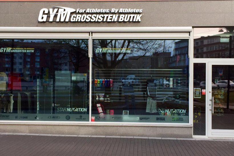 gymgrossisten butik vasagatan
